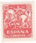 Stamps Spain -  Pro tuberculosos (16)