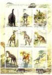 Sellos de Africa - Madagascar -  Dinosaurios