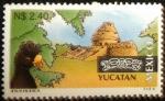 Stamps of the world : Mexico :  Observatorio Chichen-Itza Yucatán