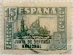 Sellos de Europa - España -  15 céntimos 1936