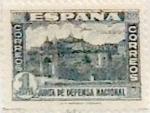 Sellos de Europa - España -  1 peseta 1936