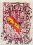 Sellos de Europa - España -  4 pesetas 1936