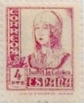 Sellos de Europa - España -  4 pesetas 1937