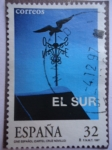 Stamps Spain -  Cartel: Cruz Novillo
