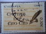 Sellos de Europa - Espa�a -  Ed: 4331- Cantar del Mio Cid