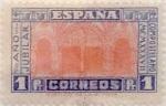 Stamps Spain -  1 peseta 1937