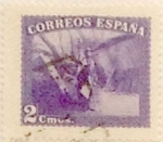 Stamps Spain -  2 céntimos 1938