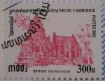 Stamps Asia - Cambodia -  Templos - Thonmanom