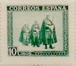Stamps Spain -  10 céntimos 1938