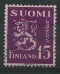 Sellos del Mundo : Europa : Finlandia : S295 - Escudo Republica
