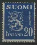 Sellos del Mundo : Europa : Finlandia : S296 - Escudo Republica