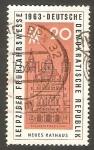 Stamps Germany -  948 - Feria de Leipzig