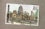 Stamps Thailand -  Sukhotai Parque Nacional