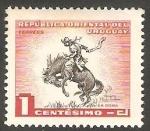 Stamps Uruguay -  624 - La doma