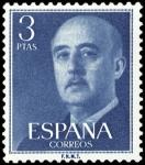 Sellos de Europa - España -  ESPAÑA SEGUNDO CENTENARIO NUEV Nº 1159 ** 3P AZUL FRANCO