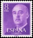 Sellos de Europa - España -  ESPAÑA SEGUNDO CENTENARIO NUEV Nº 1162 ** 8P VIOLETA FRANCO.