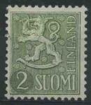 Sellos del Mundo : Europa : Finlandia : S313 - Escudo de armas