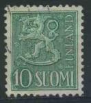 Sellos del Mundo : Europa : Finlandia : S316 - Escudo de armas