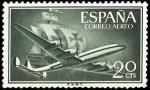 Sellos de Europa - España -  ESPAÑA SEGUNDO CENTENARIO Nº 1169  **20C VERDE BRONCE SANTA MARIA