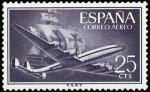 Sellos de Europa - España -  ESPAÑA SEGUNDO CENTENARIO NUEV Nº 1170 ** 25C VIOLETA GRISACEO SANTA MARIA