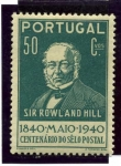 Stamps Portugal -  Centenario del Sello