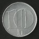 monedas de Europa - Eslovaquia -  MONEDA REP. CHECA Y ESLOV. (FRONTAL)