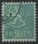 Sellos del Mundo : Europa : Finlandia : S400 - Escudo de armas