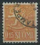 Sellos del Mundo : Europa : Finlandia : S401 - Escudo de armas