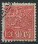 Sellos del Mundo : Europa : Finlandia : S402 - Escudo de armas