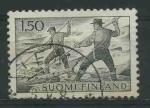 Sellos del Mundo : Europa : Finlandia : S412 - Troncos flotantes