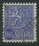 Sellos del Mundo : Europa : Finlandia : S459A - Escudo de armas