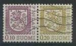 Sellos de Europa - Finlandia -  S555-56 - Escudo de armas