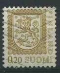 Sellos del Mundo : Europa : Finlandia : S556 - Escudo de armas