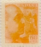 Stamps Spain -  60 céntimos 1939