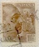 Sellos de Europa - España -  10 pesetas1939