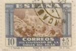 Sellos de Europa - España -  10 + 5 céntimos 1940