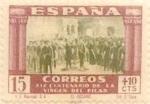 Sellos de Europa - España -  15+10 céntimos 1940