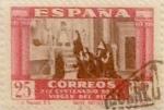 Sellos de Europa - España -  25+10 céntimos 1940