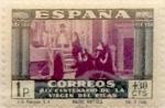 Stamps Spain -  1 peseta + 30 céntimos 1940