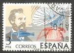 Stamps Spain -   2311 - Centº del teléfono, Graham Bell