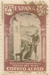 Sellos de Europa - España -  25 céntimos + 5 céntimos 1940