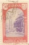 Sellos de Europa - España -  50 céntimos + 5 céntimos 1940