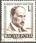 Sellos de Europa - Hungría -  MIHALY  KAROLYI.  PRIMER  MINISTRO  DE  LA  REPÙBLICA  DE  HUNGRÌA.