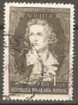 Sellos de Europa - Rumania -  FRIEDRICH  von  SCHILLER,  ESCRITOR.