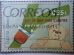 Sellos de Europa - España -  Ed: 4472 - Valores Cívicos - Por lo que más quieres, usa el Cínturón