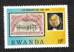 Sellos de Africa - Rwanda -  Bélgica sello del Congo