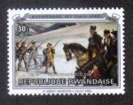 Sellos de Africa - Rwanda -  Sargento en el Valle Forge