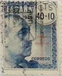 Sellos de Europa - España -  40 céntimos + 10 céntimos 1940