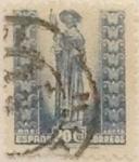 Sellos de Europa - España -  20 céntimos 1943