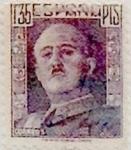 Sellos de Europa - España -  1,35 pesetas 1946